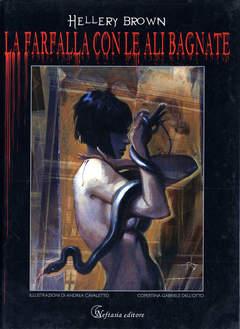 Copertina HELLERY BROWN n. - LA FARFALLA CON LE ALI BAGNATE, NEFTASIA EDITORE
