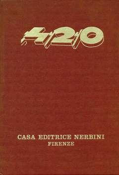 Copertina 420, RISTAMPA DELL'ANNATA 1936 n. - 420, RISTAMPA DELL'ANNATA 1936, NERBINI