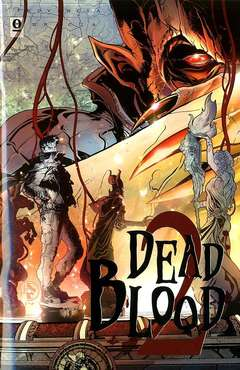 Copertina DEAD BLOOD (m4) n.2 - DEAD BLOOD, NOISE PRESS