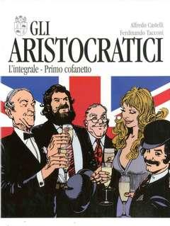 Copertina ARISTOCRATICI Cofanetto n.1 - Contiene GLI ARISTOCRATICI 1/5, NONA ARTE