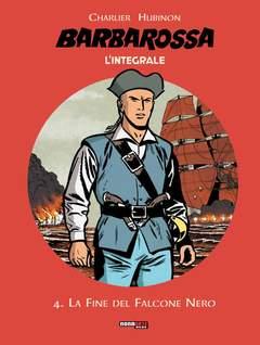Copertina BARBAROSSA L'INTEGRALE n.4 - LA FINE DEL FALCONE NERO, NONA ARTE