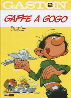 Copertina GASTON n.2 - GAFFE A GOGO, NONA ARTE
