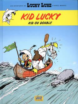 Copertina KID LUCKY n.3 - DOPPIO KID, NONA ARTE
