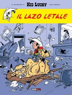 Copertina KID LUCKY n.1 - IL LAZO LETALE, NONA ARTE