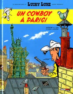 Copertina LUCKY LUKE dopo MORRIS n.7 - UN COWBOY A PARIGI, NONA ARTE