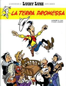 Copertina LUCKY LUKE n.5 - LA TERRA PROMESSA, NONA ARTE