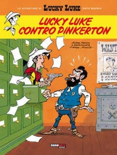 Copertina LUCKY LUKE n.1 - LUCKY LUKE CONTRO PINKERTON, NONA ARTE