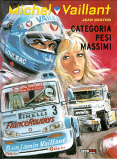 Copertina MICHEL VAILLANT n.49 - CATEGORIA PESI MASSIMI, NONA ARTE