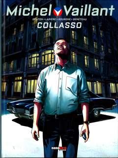 Copertina MICHEL VAILLANT Nuova Serie n.4 - COLLASSO, NONA ARTE
