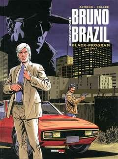 Copertina NUOVE AVVENTURE BRUNO BRAZIL n.1 - BLACK PROGRAM, NONA ARTE