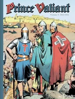 Copertina PRINCE VALIANT n.9 - 1953-1954, NONA ARTE