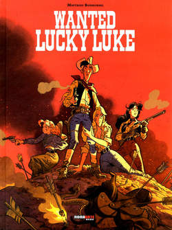 Copertina WANTED LUCKY LUKE n. - WANTED LUCKY LUKE, NONA ARTE