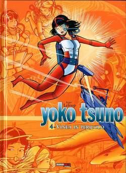 Copertina YOKO TSUNO L'INTEGRALE n.4 - VINEA IN PERICOLO, NONA ARTE