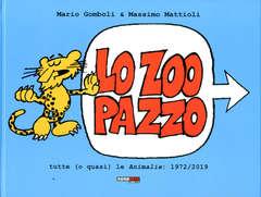 Copertina ZOO PAZZO n. - LO ZOO PAZZO - Edizione Integrale, NONA ARTE