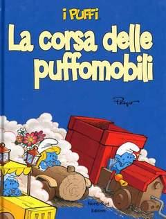 Copertina PUFFI n.1 - LA CORSA DELLE PUFFOMOBILI, NORD SUD EDIZIONI