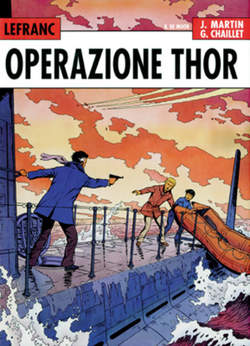 Copertina LEFRANC L'INTEGRALE n.2 - OPERAZIONE THOR, NOVA EXPRESS