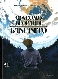 Copertina GIACOMO LEOPARDI L'INFINITO n. - GIACOMO LEOPARDI - L'INFINITO, NPE - NICOLA PESCE EDITORE