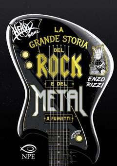 Copertina GRANDE STORIA DEL ROCK...OMNIB n. - LA GRANDE STORIA DEL ROCK E DEL METAL OMNIBUS ED., NPE - NICOLA PESCE EDITORE