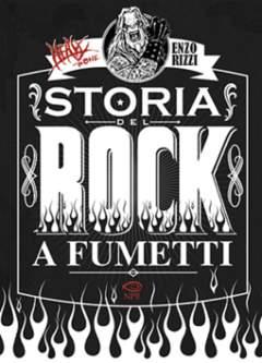 Copertina MUSIC & COMICS n.2 - HEAVY BONE - LA STORIA DEL ROCK A FUMETTI, NPE - NICOLA PESCE EDITORE