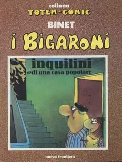 Copertina BIGARONI n.4 - INQUILINI DI UNA CASA POPOLARE, NUOVA FRONTIERA