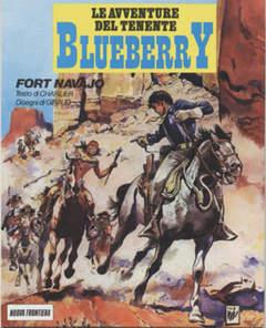 Copertina BLUEBERRY AVVENTURE CARTONATO n.1 - FORT NAVAJO, NUOVA FRONTIERA