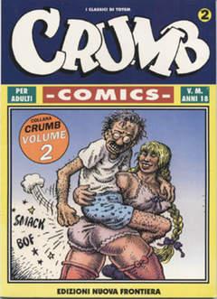 Copertina CRUMB COMICS n.2 - CRUMB COMICS, NUOVA FRONTIERA