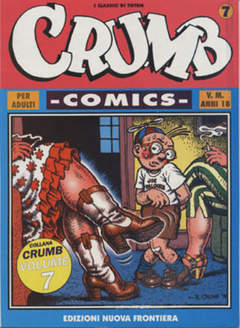 NUOVA FRONTIERA - CRUMB COMICS