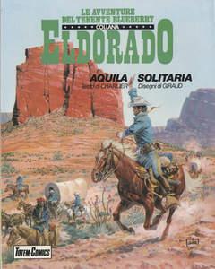 Copertina ELDORADO BLUEBERRY BROS n.3 - AQUILA SOLITARIA, NUOVA FRONTIERA