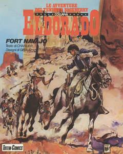 Copertina ELDORADO BLUEBERRY BROS n.1 - FORT NAVAJO, NUOVA FRONTIERA