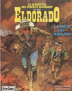 Copertina ELDORADO BLUEBERRY BROS n.5 - LA PISTA DEI NAVAJOS, NUOVA FRONTIERA