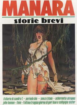 Copertina MANARA n.9 - STORIE BREVI 1, NUOVA FRONTIERA