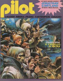 Copertina PILOT (STORIE COMPLETE) n.2 - PILOT RIVISTA DA 5 A 8, NUOVA FRONTIERA