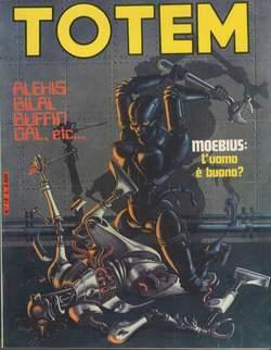 Copertina TOTEM n.18 - TOTEM                       18, NUOVA FRONTIERA