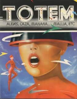 Copertina TOTEM n.22 - TOTEM                       22, NUOVA FRONTIERA