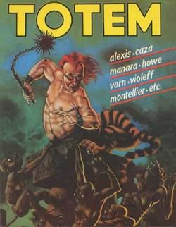 Copertina TOTEM n.23 - TOTEM                       23, NUOVA FRONTIERA