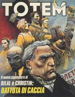 Copertina TOTEM n.28 - TOTEM                       28, NUOVA FRONTIERA
