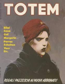 Copertina TOTEM n.34 - TOTEM                       34, NUOVA FRONTIERA