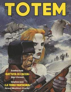 Copertina TOTEM n.35 - TOTEM                       35, NUOVA FRONTIERA