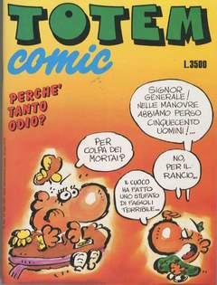 Copertina TOTEM COMIC n.145 - TOTEM COMIC                145, NUOVA FRONTIERA