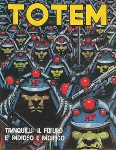 Copertina TOTEM n.2 - TOTEM                        2, NUOVA FRONTIERA