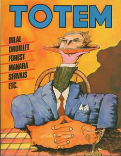 Copertina TOTEM n.6 - TOTEM                        6, NUOVA FRONTIERA
