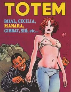 Copertina TOTEM n.7 - TOTEM                        7, NUOVA FRONTIERA