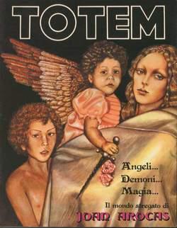 Copertina TOTEM n.8 - TOTEM                        8, NUOVA FRONTIERA