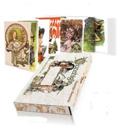 Copertina MANUNTA SET DI CARTOLINE IN COFANETTO n. - Cofanetto con 22 cartoline, NUVOLOSO EDIZIONI