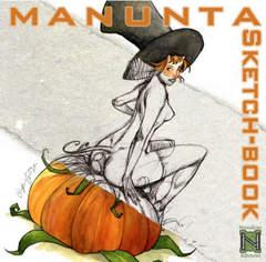 Copertina MANUNTA SKETCH-BOOK n. - MANUNTA SKETCH-BOOK, NUVOLOSO EDIZIONI