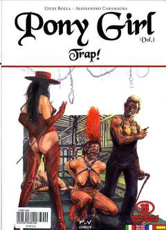 Copertina PONY GIRL n.1 - TRAP!, P&V COMICS