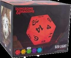 Copertina DUNGEONS AND DRAGONS D20 LIGHT n. - PP6639DD - D&D D20 - DESK LIGHT 12CM, PALADONE