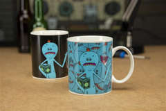 Copertina TAZZE PALADONE n.7 - RICK AND MORTY - MR MEESEEKS HEAT CHANGE MUG, PALADONE