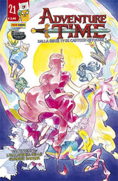 Copertina ADVENTURE TIME n.21 - PANINI TIME 21, PANINI COMICS