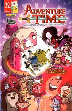 Copertina ADVENTURE TIME n.22 - PANINI TIME 22, PANINI COMICS
